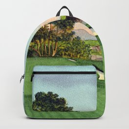 Pebble Beach Golf Course 5th Hole Backpack