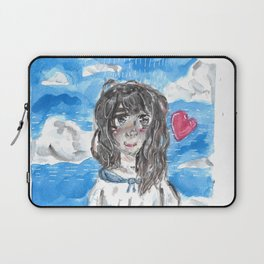 Cloudy day Laptop Sleeve
