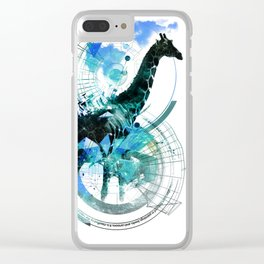 Infinite Species - Wildlife Design Clear iPhone Case