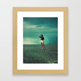 Loved the way You once looked upon Tomorrow Framed Art Print