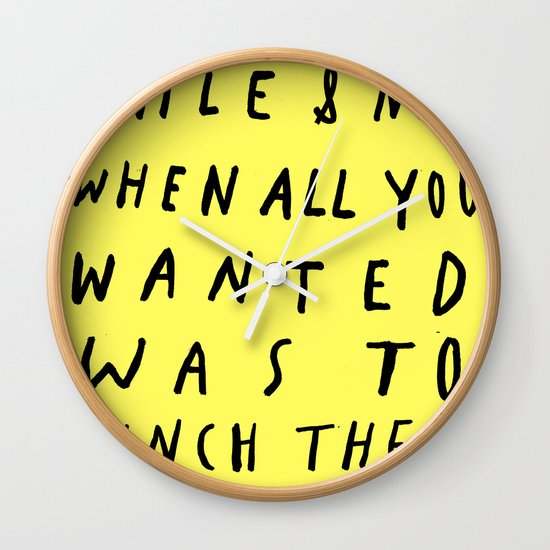 THE ART OF Wall Clock
