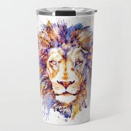 Lion Head Travel Mug
