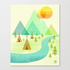 Native Lands Canvas Print