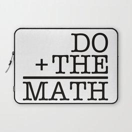 Do The Math Laptop Sleeve