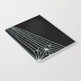 Triangles (mint) Notebook