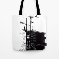 French rooftops Tote Bag