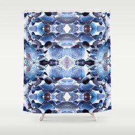Jewelled Rocks Shower Curtain