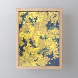 Flowerimg tree Framed Mini Art Print