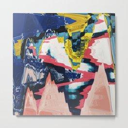 Abstract Error 04 Metal Print