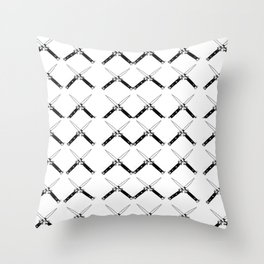 Switchblades Throw Pillow