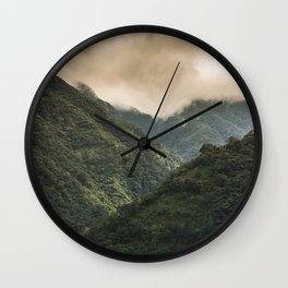 The Mountains Wall Clock