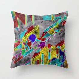 shaping-Up Throw Pillow