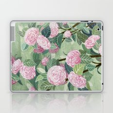 Pink florals Laptop & iPad Skin