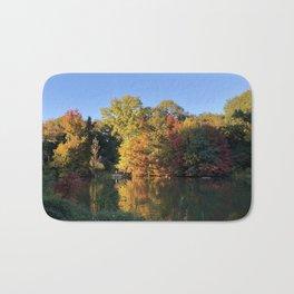 Autumn leaves Bath Mat