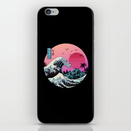The Great Retro Wave iPhone Skin