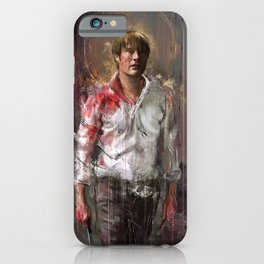 In the kitchen iPhone Case