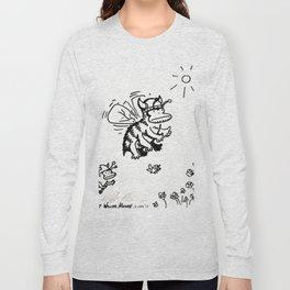 Vanguard of the Viking Ape-Bee Raiding Party Long Sleeve T-shirt
