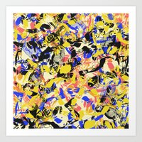 fight Art Prints featuring Fight by Larionov Aleksey