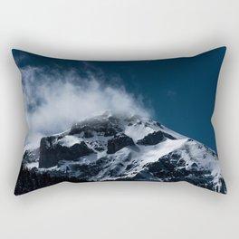 Crushing clouds #mountain #snow Rectangular Pillow