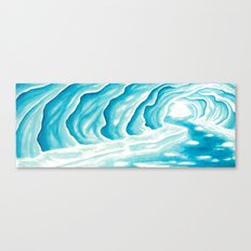Ice Cavern Canvas Print