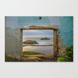 Sutro Baths - San Francisco, CA Canvas Print