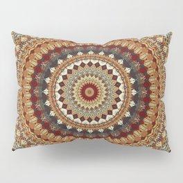 Earthy Mandala Pillow Sham