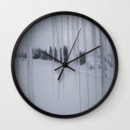 February: 2 Wall Clock