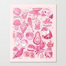 Millennial Witch Canvas Print