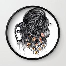 GIRLZ - ORANGES Wall Clock