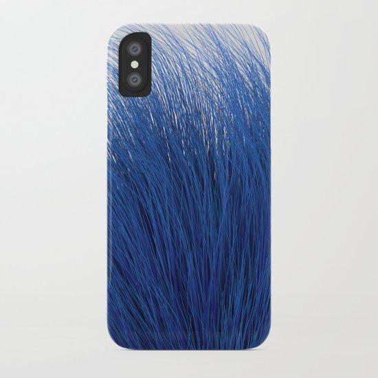 Blue Fuzz iPhone Case