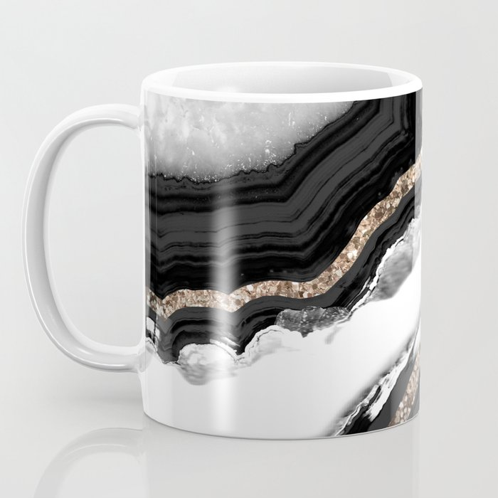 Agate Glitter Glam #2 #gem #decor #art #society6 Coffee Mug