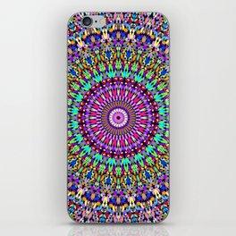 Colorful Love Mandala iPhone Skin