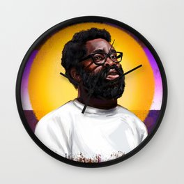 Optimistic Jaaahhhn Wall Clock