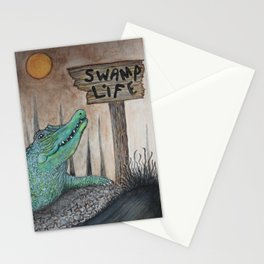 Swamp Life Stationery Cards