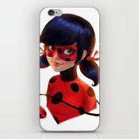 ladybug iPhone & iPod Skins featuring Ladybug by ChrySsV