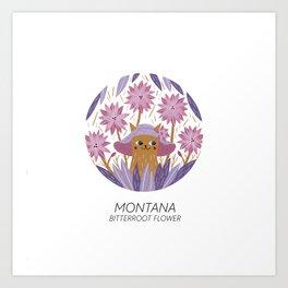American Cats - Montana Art Print