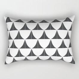 1950's demographic Rectangular Pillow