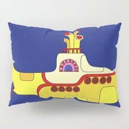 We all live in a yellow submarine Pillow Sham