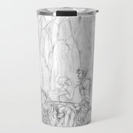 The Dark Forest - La Forêt de L'Obscure Travel Mug