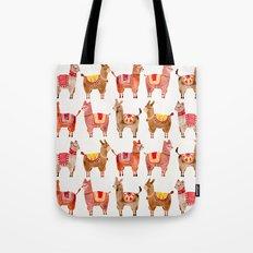 Alpacas Tote Bag