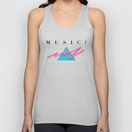 MUSIC EXCLAMATION POINT Unisex Tank Top