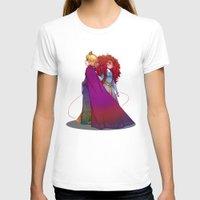 merida T-shirts featuring Elsa & Merida  by Kiome-Yasha