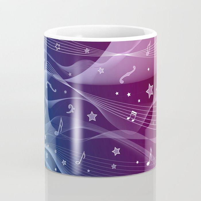 MUSIC PATTERN Coffee Mug