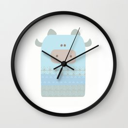 Baby cow Wall Clock
