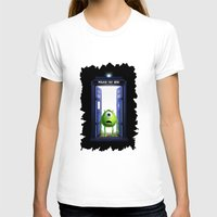 monster inc T-shirts featuring Tardis Monster inc by DavinciArt