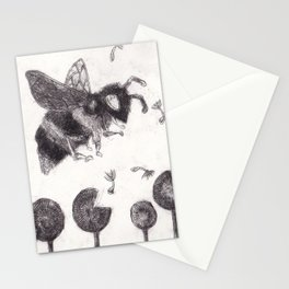 Bee Happy 3 Stationery Cards
