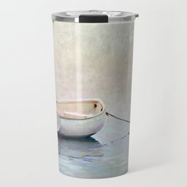 Silent Morning by the Shore Travel Mug