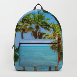 Palms in Paradise Backpack