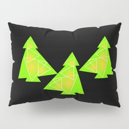 Three little trees Pillow Sham