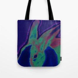 Solar Bunny Tote Bag